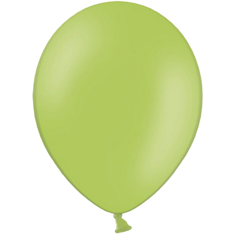 Image of 10.5 Inch Balloons (Pack Of 100) (One Size) (Pastel Lime Green) - Belbal