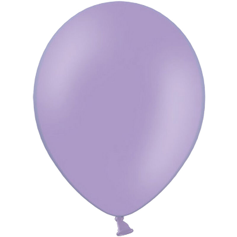 Image of 10.5 Inch Balloons (Pack Of 100) (One Size) (Pastel Lavender) - Belbal