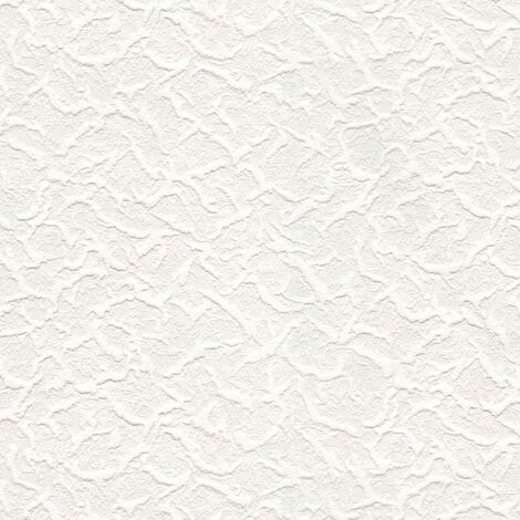 Belgravia Richmond Cracked Ice Pattern Paintable Embossed Vinyl Wallpaper 5830