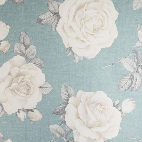 Belgravia Wallpaper 9763 Rosa Teal