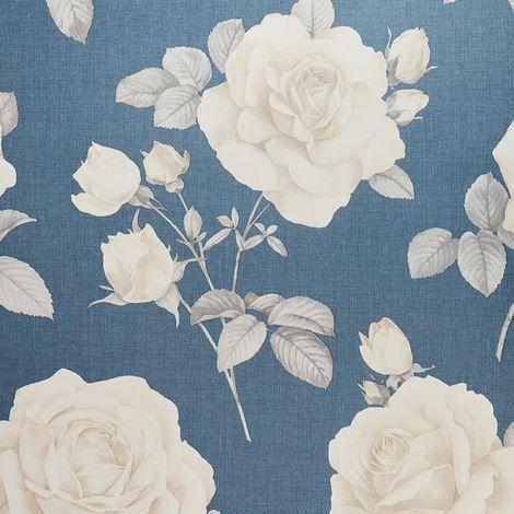 Belgravia Wallpaper 9764 Rosa Navy