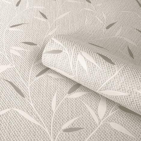 Belgravia Wallpaper Amelie Leaf Beige 3001