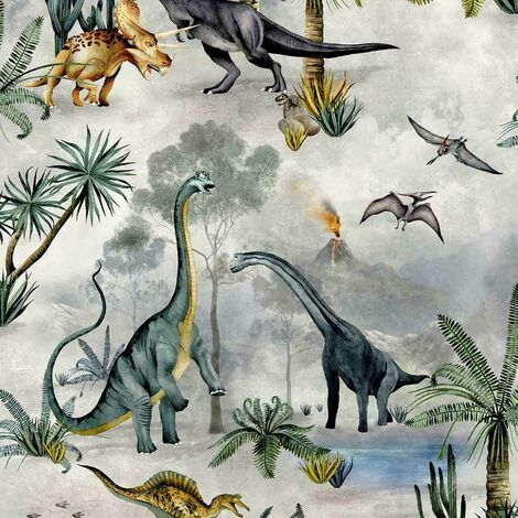 Belgravia Wallpaper Dino Kingdom 7700