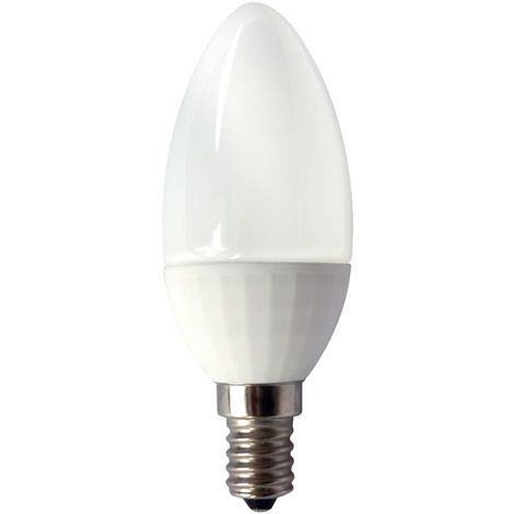 Bell 05056 4W LED 35mm Non - Dimmable Candle Opal 2700K Extra Warm White Light Colour Temperature - B15d