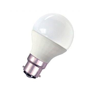 Image of 05102 4W LED 45mm Non - Dimmable Round Ball Opal 2700K Extra Warm White Light Colour Temperature - B22d - Bell