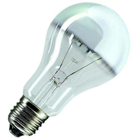Bell 100W GLS E27 Dimmable Warm White Crown Silver