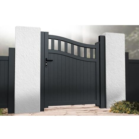 Bell Curved Top with Tall Infill Pedestrian Gate