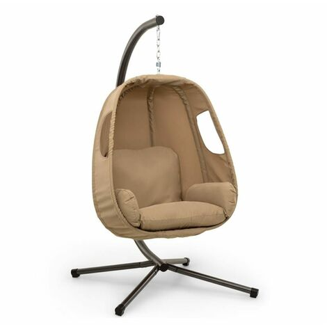 """main image of """"Bella Donna fauteuil suspendu coussin d'assise 180 g polyester beige"""""""