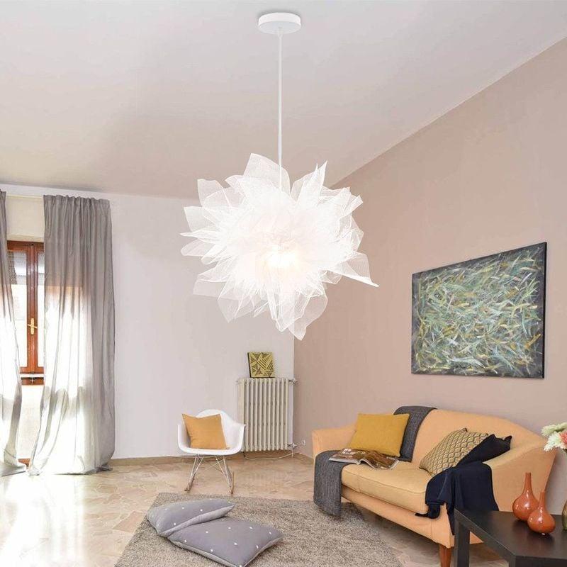 Belle Moderne Lustre Abat Jour Ombre Eclairage Suspension blanches pour  Chambres des Enfants ou Décor contemporain