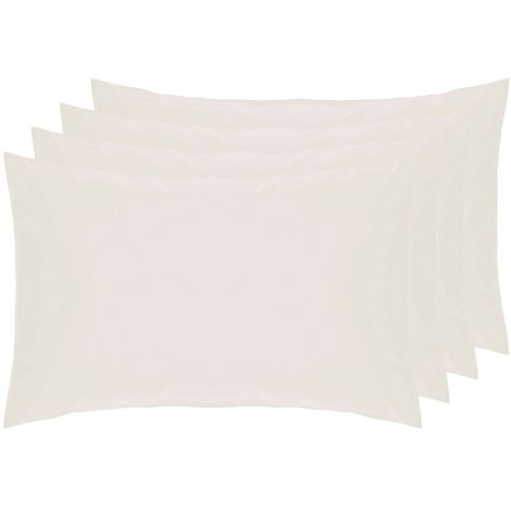 Belledorm 100% Cotton Percale Housewife Pillowcases (Pack Of 4)