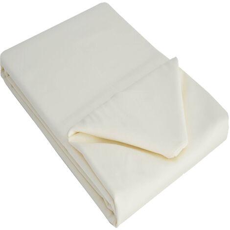 Belledorm 100% Cotton Sateen Flat Sheet