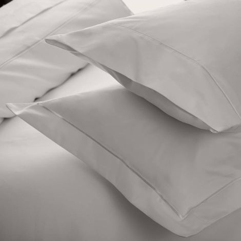 Belledorm 1000TC Egyptian Cotton Square Oxford Pillowcase (65 x 65cm) (Platinum)