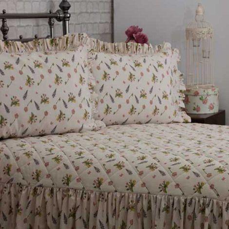 Belledorm Bella Mae Pillowcases (Pair) (One Size) (Ivory)