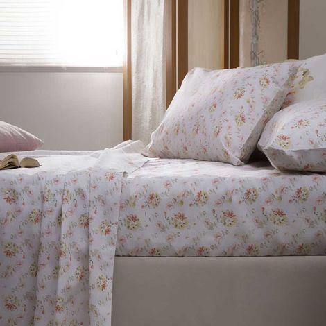 Belledorm Cherry Blossom Sheet Set (Single) (Multicoloured)