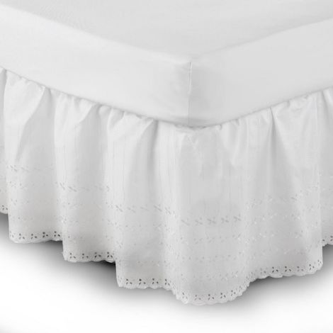 Belledorm Easy Fit Broidery Anglaise Platform Valance