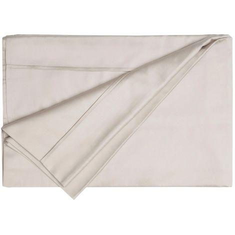 Belledorm Egyptian Blend Fitted Sheet (King) (Oyster)