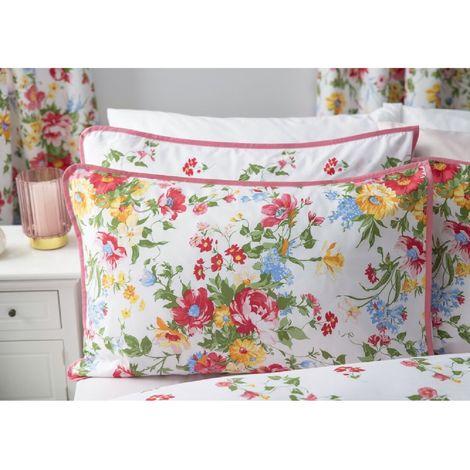 Belledorm Mia Pillowcase (1 Pair) (51cm X 76cm) (Multicoloured)