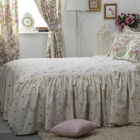 Belledorm Rose Boutique Fitted Bedspread