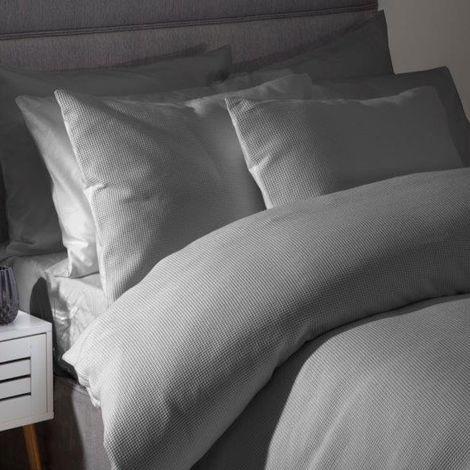 Belledorm Waffle Weave Continental Pillowcase