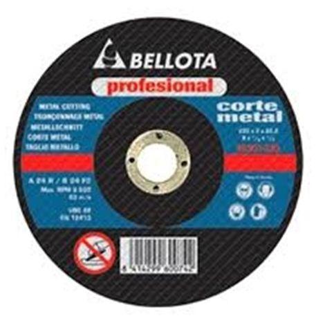 BELLOTA DISCO CORTE 125*1 INOX PLANO