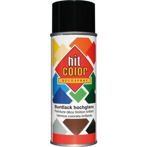 belton Hitcolor Lackspray 400 ml, tiefschwarz, hochglanz, RAL 9005