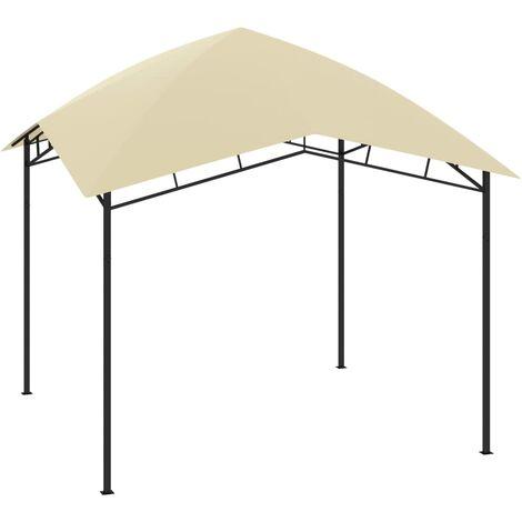 Belvédère de jardin 3x3x2,9 m Crème 180 g/m2