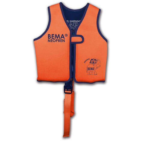BEMA Kinder-Schwimmweste Orange