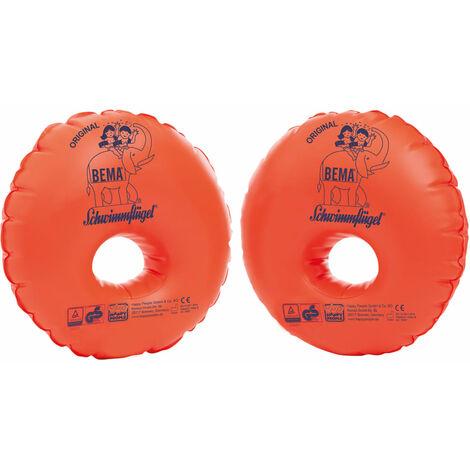 BEMA Manguitos de natación inflables Duo Protect naranja - Naranja
