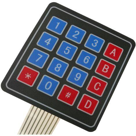 BeMatik - 16-key membrane keypad DWT-0259