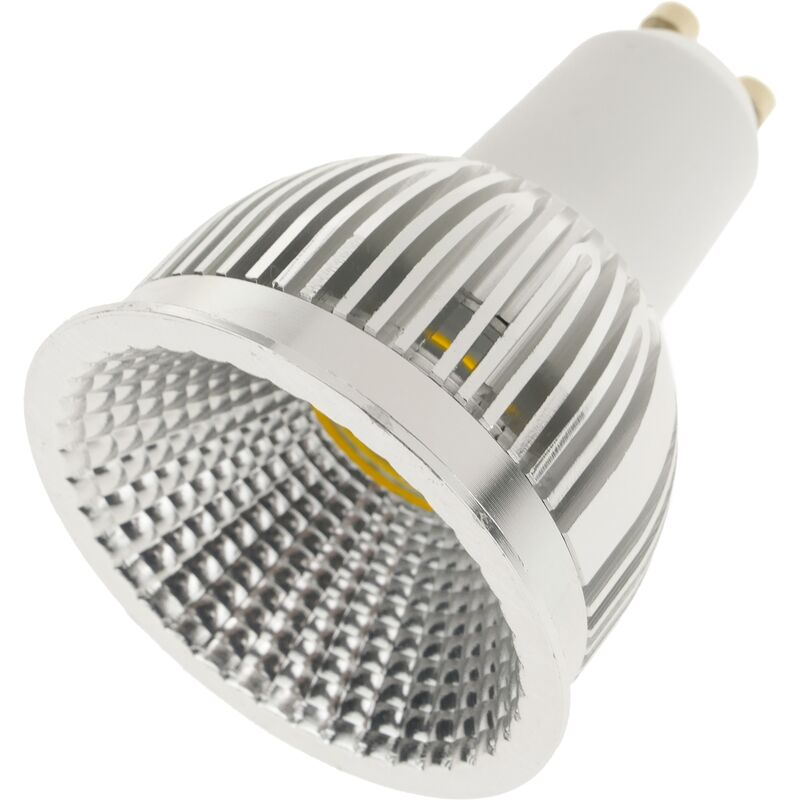 Image of 230VAC LED Bulb 5W GU10 dichroic 120 ° 50mm warm light - Bematik