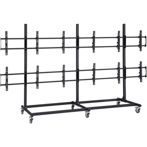"""BeMatik - 3x2 TV Stand for screens of 46"""""""