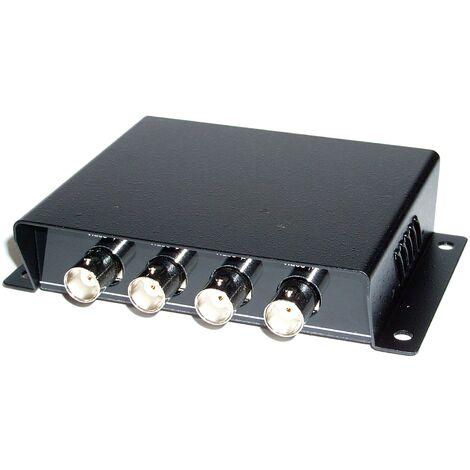 BeMatik - 4BNC passive video transceiver to 4RJ45 TTP444V