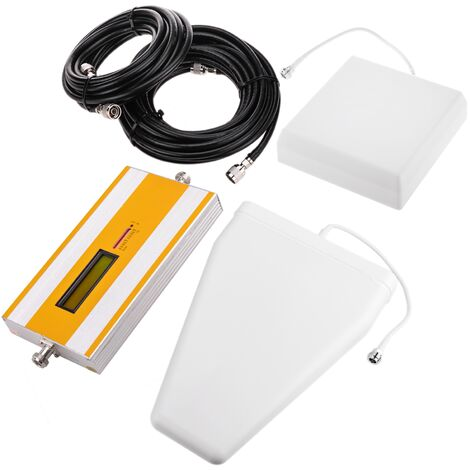 BeMatik - 4G LTE 800MHz Les antennes amplificateur répéteur de 75dB et câbles