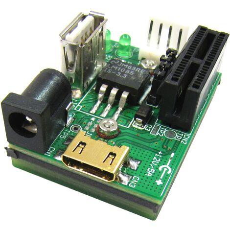 BeMatik - Adaptador externo de PCI-Express y USB (1X)
