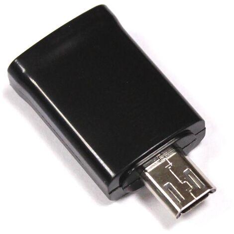 BeMatik - Adaptador Micro USB MHL 9pin a 5pin para Samsung Galaxy S3 S4 Note II