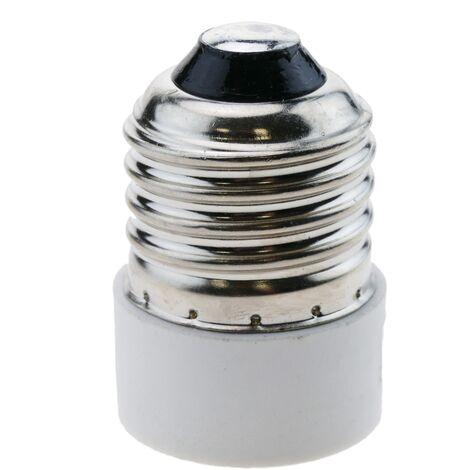 BeMatik - Adaptador rosca de bombilla E27 a E14