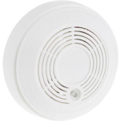 BeMatik - Alarma detectora de humo, fumadores y tabaco para techo modelo DB050