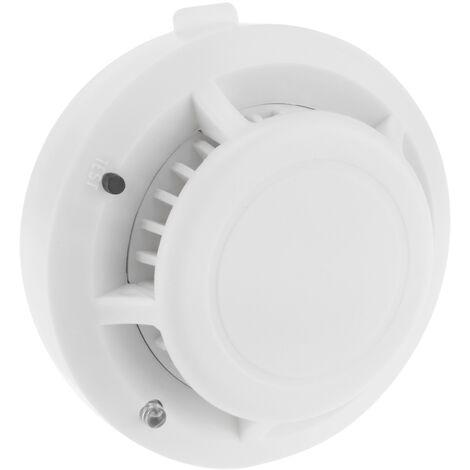 BeMatik - Alarma detectora de humo, fumadores y tabaco para techo modelo DB052