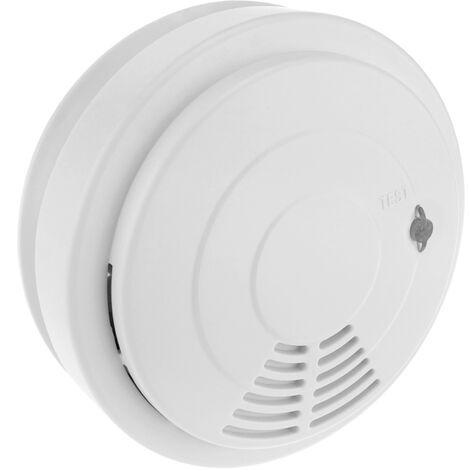 BeMatik - Alarma detectora de humo, fumadores y tabaco para techo modelo DB053