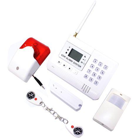 BeMatik - Alarma para GSM de 2 bandas con teclado