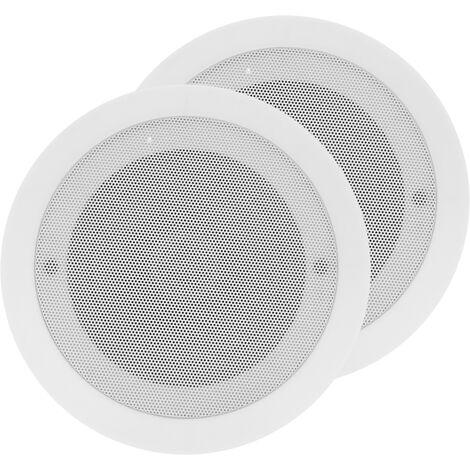 BeMatik - Altavoces de techo Bluetooth con amplificador 40W x2