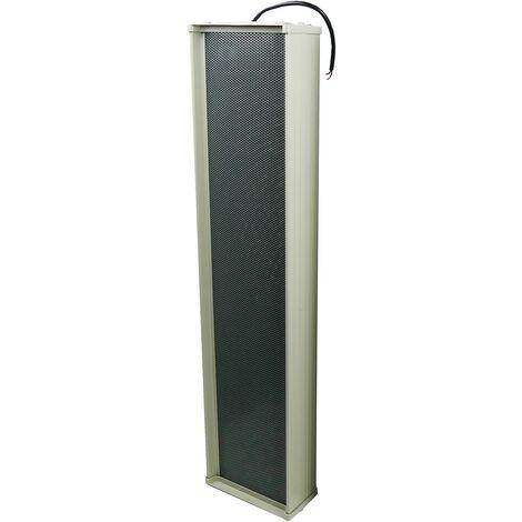 BeMatik - Altavoz de columna para megafonía de 120W 1200x200x142mm