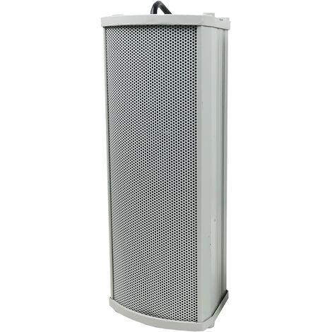 BeMatik - Altavoz de columna para megafonía de 20W 330x130x115mm