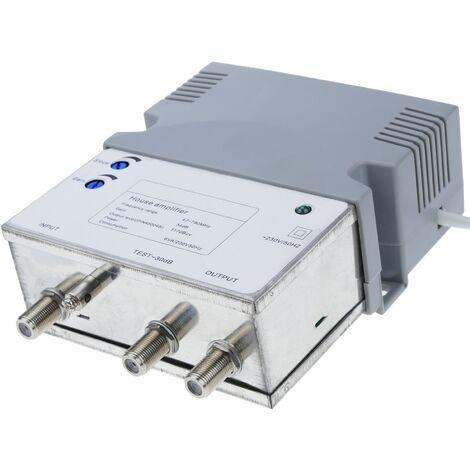 BeMatik - Amplificateur d'antenne TV DVBS pour les petites collectivités collectives 47-790 MHz