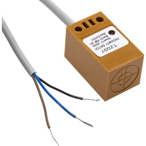 BeMatik - Approach proximity sensor inductive 10-30 VDC PNP NO