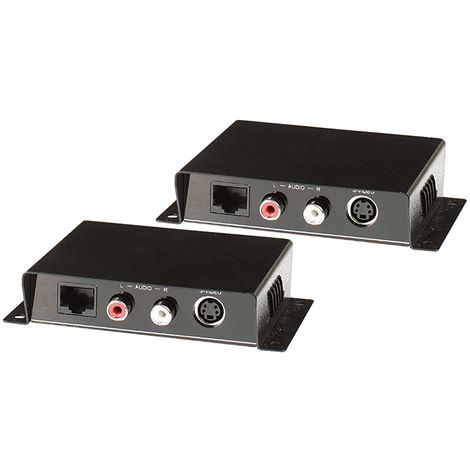 BeMatik - Audio Extender UTP and S-Video transmitter and receiver Cat.5 SE01A