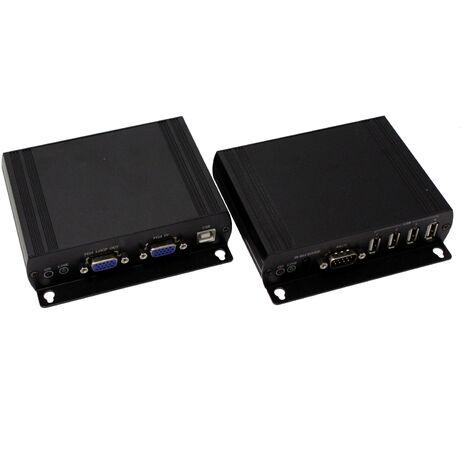 BeMatik - AUDIO VGA Extender USB-IR-RS232-Kabel UTP Cat.6 und Cat.5e