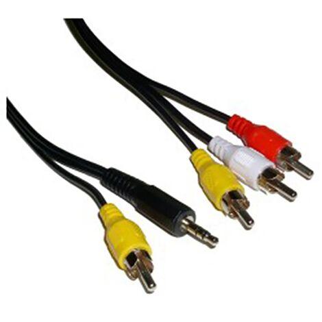 BeMatik - Audio + Video TV Cable M/M 15m