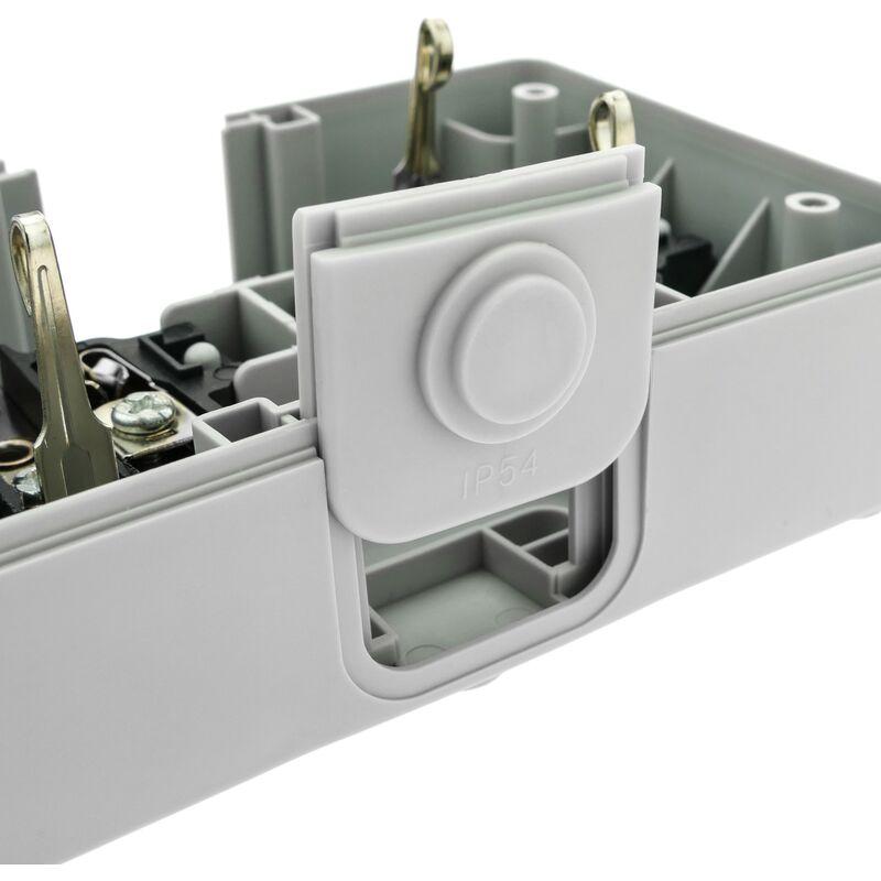 IP54. Double schuko ext/érieur 16 A 250 V