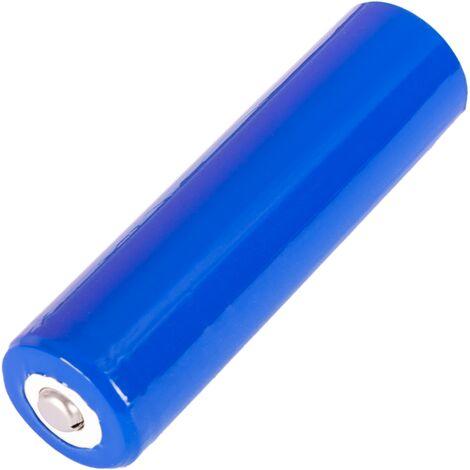 BeMatik - Batería recargable Li-Ion 18650 de 2200 mAh 3.7V